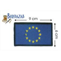 Escudo Parche Bordado Banderas De Union Europea