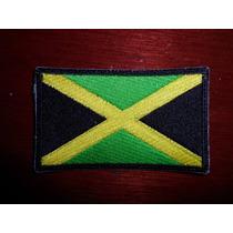 Parche Escudo Bordad Bandera Jamaica Reggae