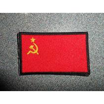 Bandera Union Sovietica Urss Bordado Parche Escudo