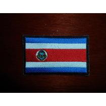 Escudo Parche Bordado Bandera Costa Rica