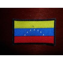 Parche Escudo Bordado Bandera De Venezuela