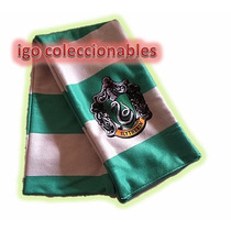 Bufanda Slytherin Harry Potter Igo Coleccionables Economica