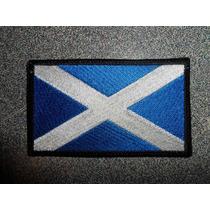 Bandera Bordada De Escocia Parche Escudo