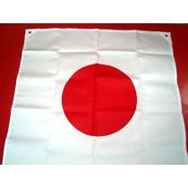 Bandera De Japón En Serigrafía Karate Rm4