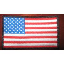 Parche Escudo Bordado Bandera Estados Unidos