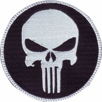 Punisher Parche Con Velcro Series Castigador Bordado Militar