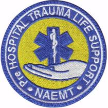 Phtls Naemt Parche Bordado Rescate Paramedico
