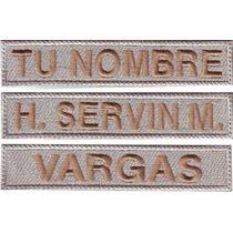 Identificador Personalizado Nombre Bb Velcro Parche Bordado