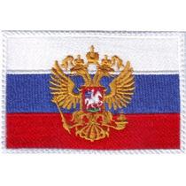 Rusia Europa 1 Parches Bordados Banderas Paises Del Mundo