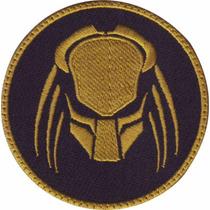 Depredador Series Predator Con Velcro Oro Parche Bordado