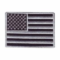 Usa Estados Unidos Gris Parches Bordados Banderas Paises
