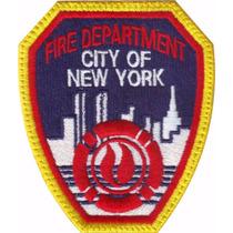 Nueva York Bomberos Usa Parche Bordado Rescate Militar