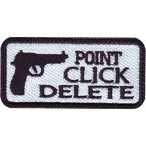 Poin Click Delete Pistola Parche Bordado Militar Gotcha