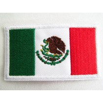 Bandera De Mexico Parche Adherible Uniformes Gotcha Deportiv