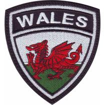 Wales Inglaterra Escudo Parches Bordados Banderas Paises