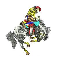 Ponchados Wilcom Vaqueros,rancho, Gallo + Ponchado Gratis