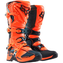 Botas Fox Comp 5 Naranja Mx 2016 Motocross Atv ! Talla 8