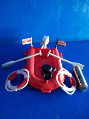 Bote De Bomberos Playmobil Vintage