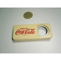 Antiguo Destapador Coca Cola De Plástico