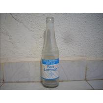 Antigua Botella De Vidrio San Lorenzo No Lamina No Subasta