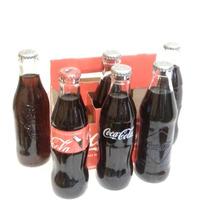 Coca Cola Canastilla Con 6, 100 Años De La Botella Coca Cola