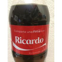 Botella Coca Cola Con Nombre Ricardo - Llena