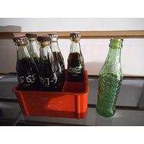 Caja Con 6 Botellitas Coca Cola Y Sprite