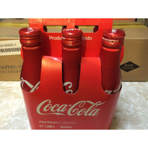 Paquete De 6 Coca Cola Aluminio Botella Sin Liquido