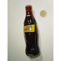 Vintage Botella De Coca Cola 2004 Original Mundo Las Vegas