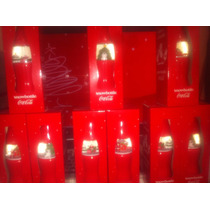 Coca Cola Botellas De Navidad Snowbottle-originales Nuevas-