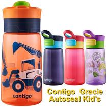 Botella Para Agua Contigo Kids Gracie Con Gráficos 414 Ml