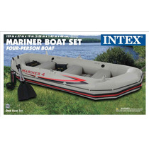 Nueva Intex Mariner 4 Lancha Bote Inflable Modelo 2013 Big