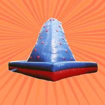 Inflable Gigante Montaña De Rapel 6x6