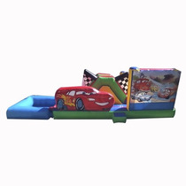 Brincolin Inflable Escaladora Acuatico Cars