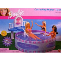 Barbie En Cascada Piscina De Agua