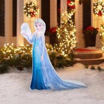 Inflable De Elsa Frozen Para Decoracion Eventos Infantiles