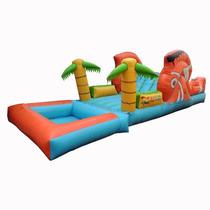 Brincolin Inflable Escaladora Nemo Acuatico