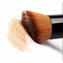 Brocha Kabuki Maquillaje Polvo Corrector Madera Envío Gratis