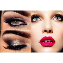 Aprende El Arte Del Maquillaje, Labios,ojos,brochas Pinceles