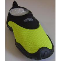 Zapato Acuatico Svago Modelo Cool, Color Amarillo