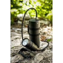 Lampara Primaria Led Para Buceo Finn Light Strong 3600