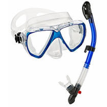 Tb Snorkeling Aqua Lung Sport Win Purge Mask Ultra Dry Snork