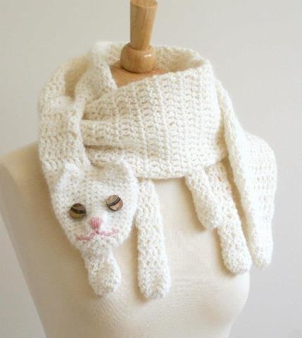 Bufandas tejidas a crochet para niños , Imagui