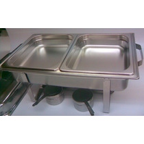 Bufetera O Chafing Dish De 9lts Doble Y Triple