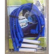 Cables De Bujias Chevy Corsa Astra Silicon Azul De 9.8 Mm