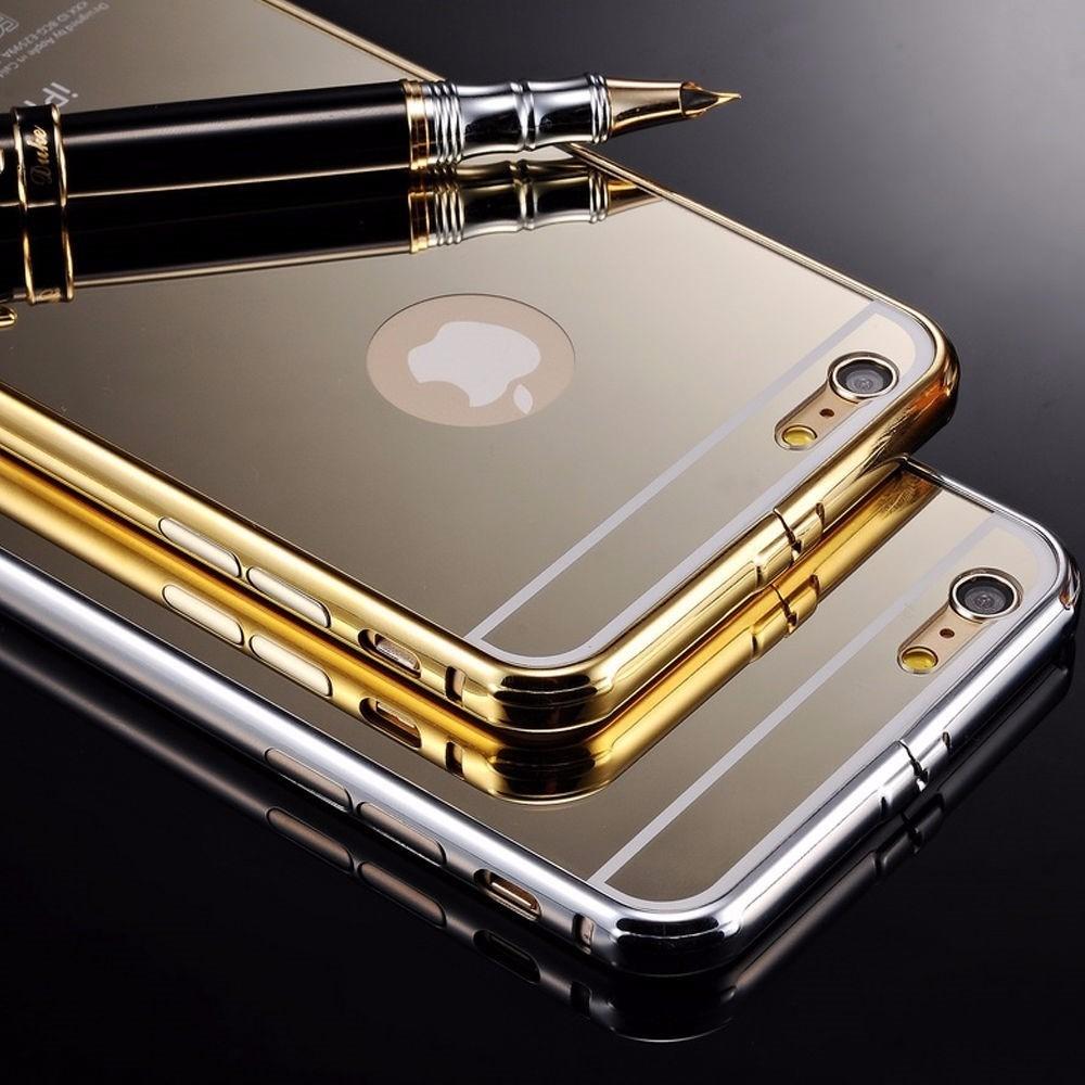Bumper aluminio espejo mirror apple iphone 6 y 6 plus en mercadolibre - Aluminio espejo ...