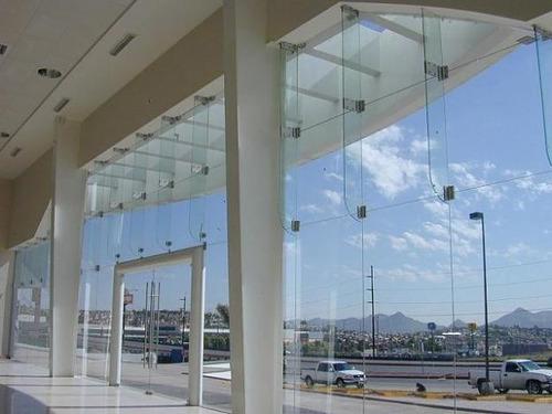 Mamparas Para Baños Hermosillo:Fachadas En Vidrio Curvo Templado Colores Importados BsF 350,00 en