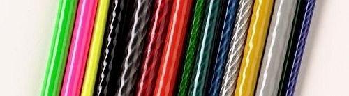 Cable De Acero Con Pvc 7x7 1 16 3 32 Y 300 M Verde