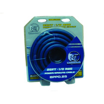 Kit De Cable Calibre 0 Linea Pro Bullz Audio Bpp0.25