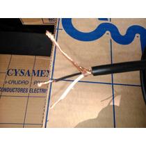 Cable Para Microfono Cysamex X Metro 2x20 100% Cobre